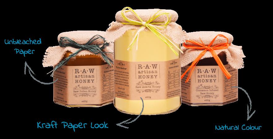 Artisan Honey Labels