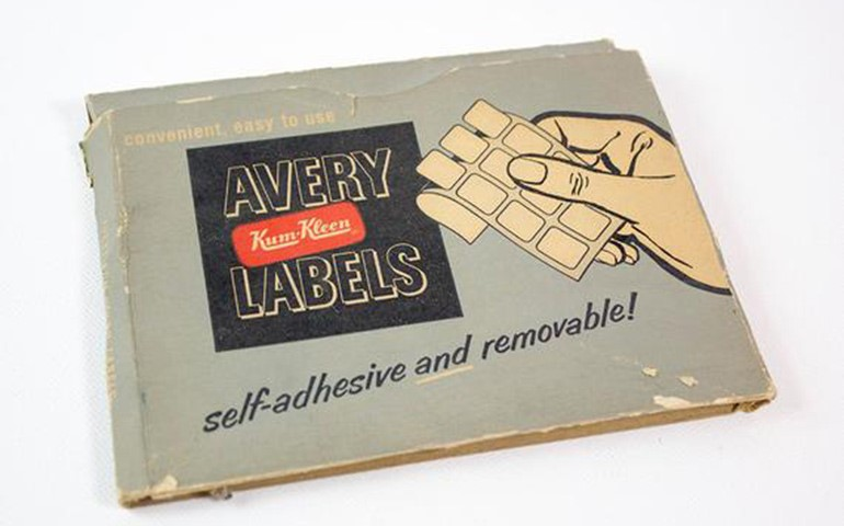 First Avery Labels Book