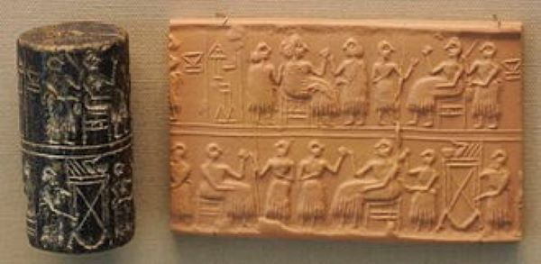 Cylinder Seal of First Dynasty