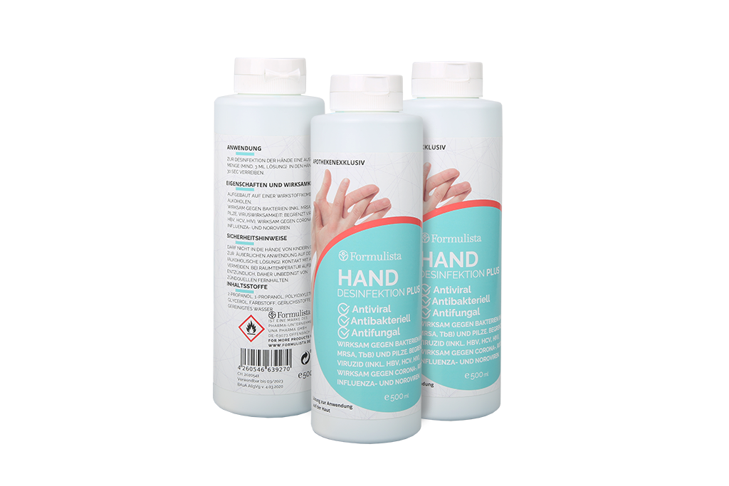 Hand Sanitiser Bottles