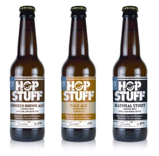 Hop-Stuff-Drury-Labels Bieretiketten Rollenhaftetiketten